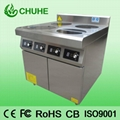 4 plate electric induction cooker with oven 2