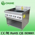 4 plate electric induction cooker with oven 3