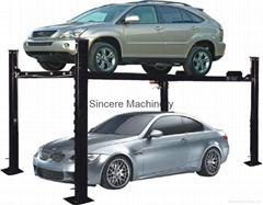 Four post car parking lift