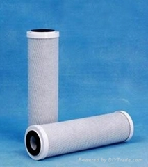 CTO GAC carbon Filter Cartridge/ Actived Carbon Filter Cartirdge