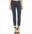 2012 hotsale sexy women jeans pants stocklot short woman jeans  1