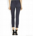 2012 hotsale sexy women jeans pants stocklot short woman jeans  3