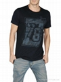 2013 latest fashion man wholesale top brand man T-shirt