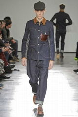 2013 wholesale top brand manufacture fashion man set coat