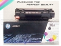 HP Laser toner cartridge CB436A