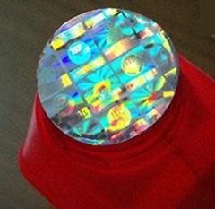 Make genuine hologram label