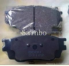 brake pads D3122 Benz