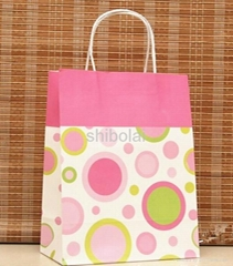 cheap kraft paper gift bag
