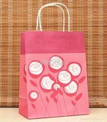 custom printed paper gift bags wholesale