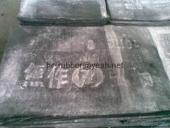 Recylced rubber sheet