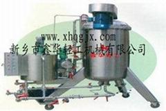 水平圓盤硅藻土醬油過濾機