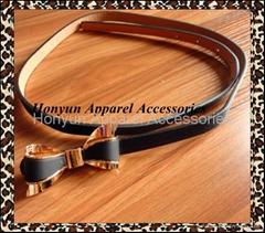 custom buckle belts for ladies