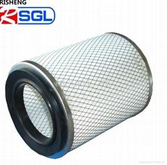 gas turbine air intake  filter cylinder