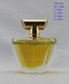 Perfume Glass Bottle with Surlyn/ Plastic Plating Cap and Aluminum Sprayer 2