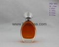 Perfume Glass Bottle with Surlyn/ Plastic Plating Cap and Aluminum Sprayer 4