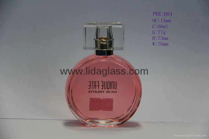 供應高檔卡口香水瓶,噴霧玻璃瓶,法國香水玻璃瓶 5