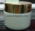 黑色蒙砂小膏霜玻璃瓶 4
