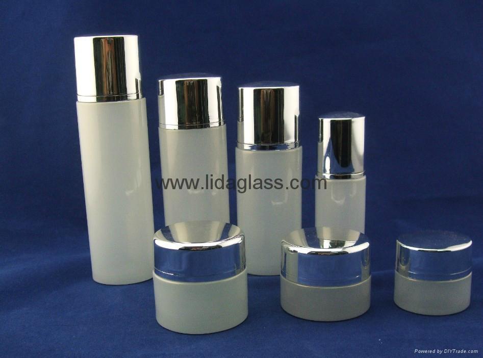 高檔套裝乳液玻璃瓶 4