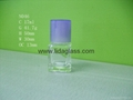 Nail polish glass bottle 5