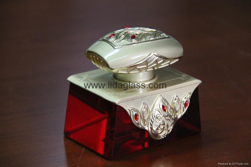 水晶汽車香座玻璃瓶 4