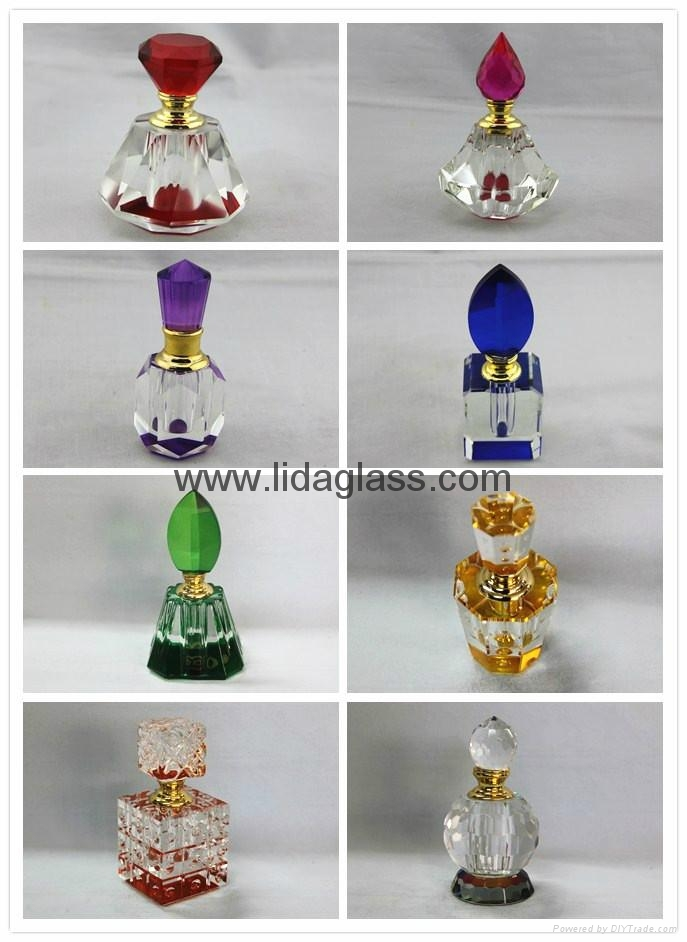 Crystal  perfume glass bottle 1