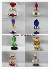 Crystal  perfume glass bottle
