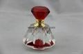 Crystal  perfume glass bottle 2