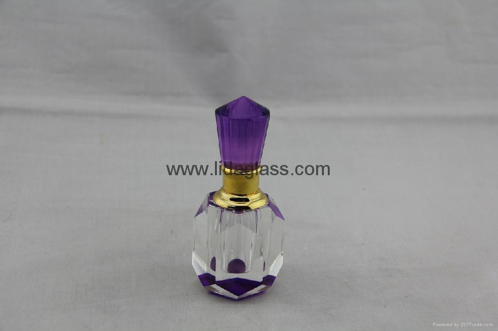 Crystal  perfume glass bottle 3