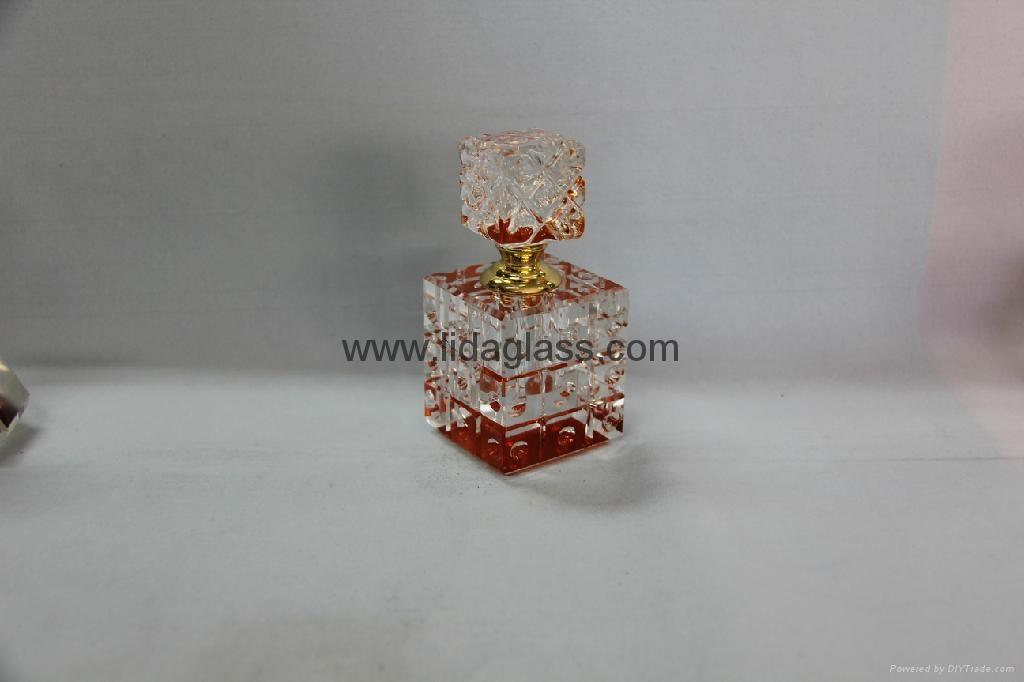 Crystal  perfume glass bottle 5