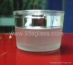 膏霜蒙砂玻璃瓶