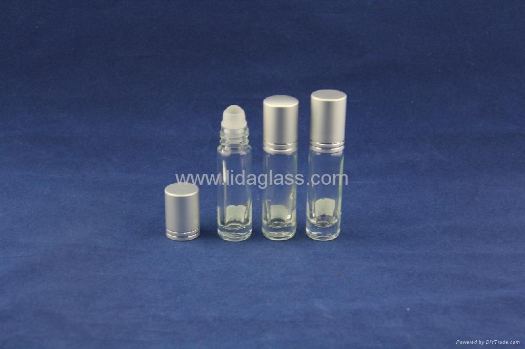 Ball roller perfume glass bottle 1