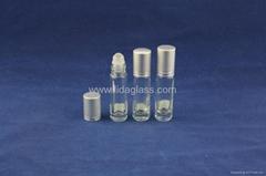 Ball roller perfume glass bottle