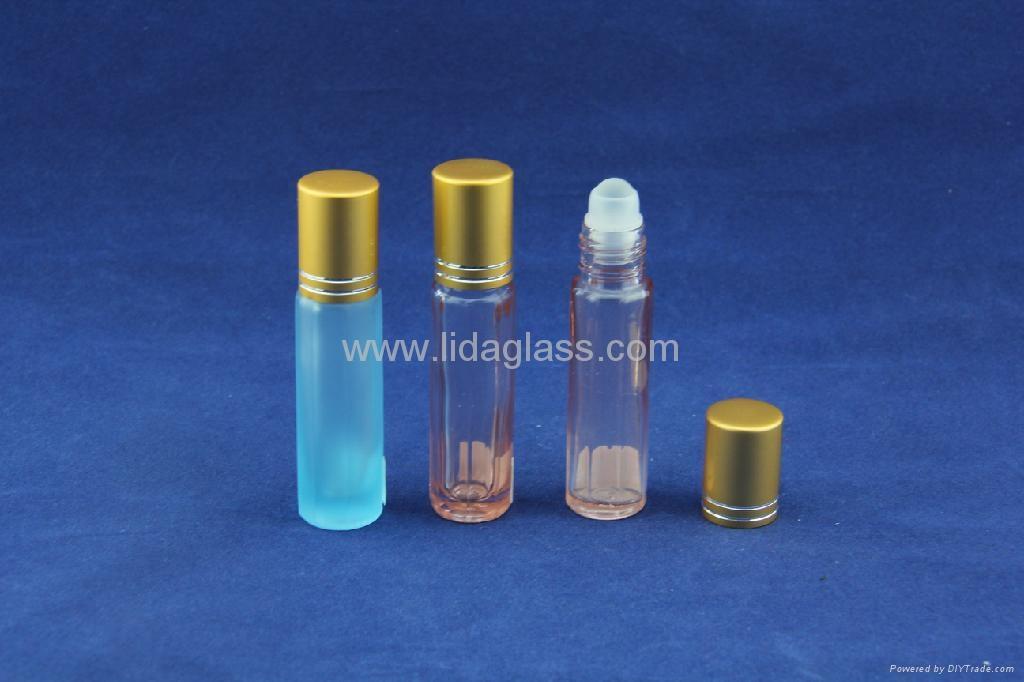 Ball roller perfume glass bottle 4