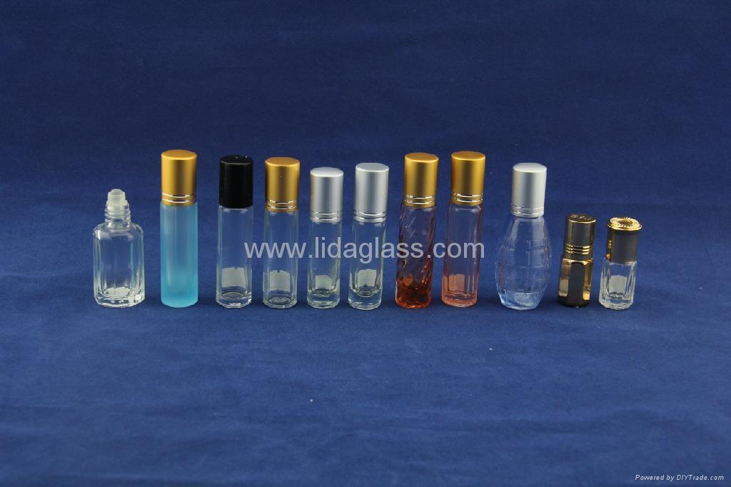 Ball roller perfume glass bottle 5