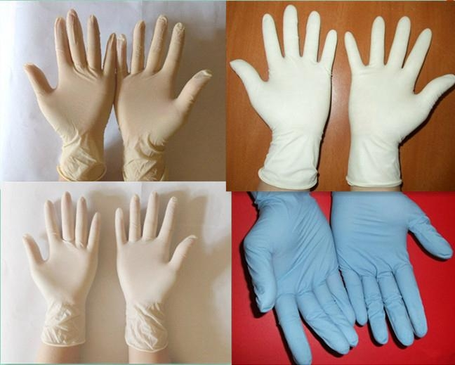 Disposable Latex Exam Gloves  1