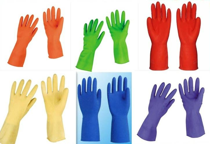 Household latex gloves 1