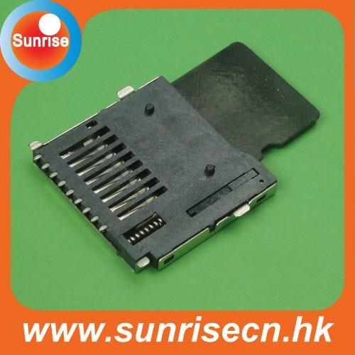 Push Micro SD card connector 2