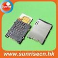 Push Push Sim card connector