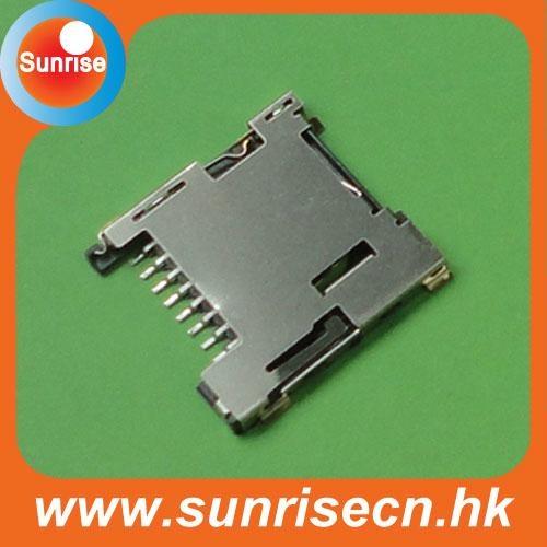 Push push micro sd card connector 4
