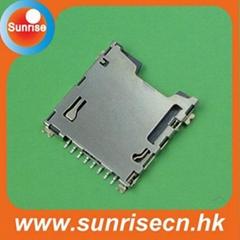 Micro SD card connector