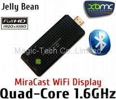 Android TV Dongle Quad core RK3188