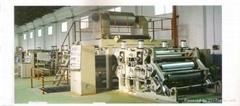 PE aluminum plastic composite panel extrusion machine