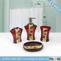 EA0110 Bathroom Accessories Set Red