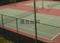 宜昌室外排球场专用绿色抗撞击钢