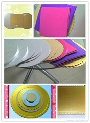 round&square cake boards,cake boards