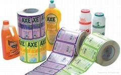 plastic bottle sticker label printing