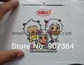 Clear sticker printing/free hipping