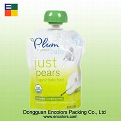 Colorful printing and lamination packaging plastic beverage bag