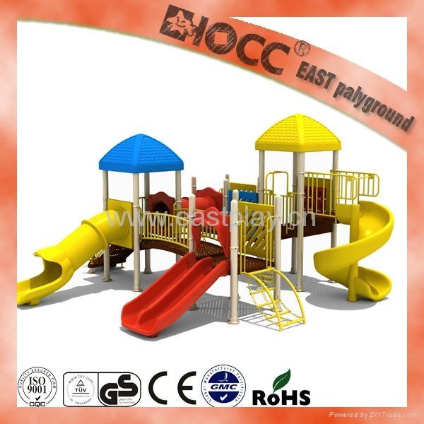 latest own design kids playground outdoor usement 3