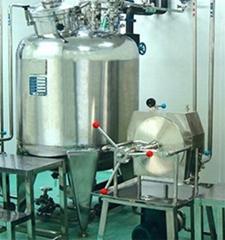 reactor tank  reacting vessel